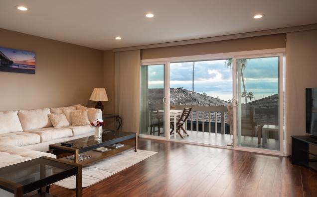 Living Room Ocean View